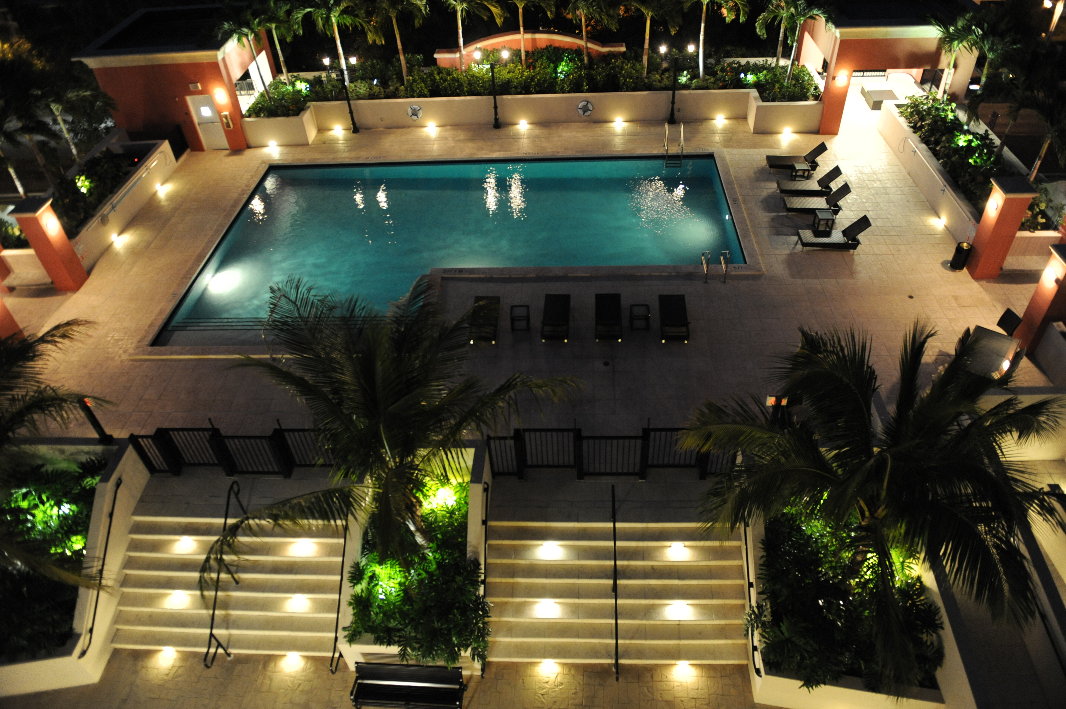 1-one-village-place-pool-night